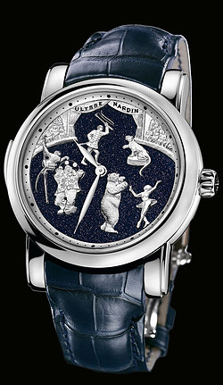 Replica Ulysse Nardin Exceptional Circus Aventurine Minute Repeater 740-88 replica Watch