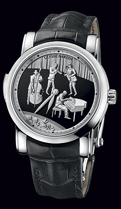 Replica Ulysse Nardin Exceptional Jazz Minute Repeater 749-88 replica Watch