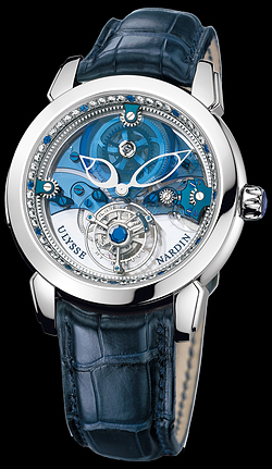 Replica Ulysse Nardin Exceptional Royal Blue Tourbillon 799-80 replica Watch
