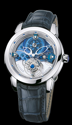 Replica Ulysse Nardin Exceptional Royal Blue Tourbillon 799-81 replica Watch