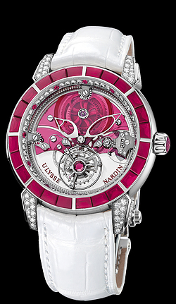 Replica Ulysse Nardin Exceptional Royal Ruby Tourbillon 799-88BAG replica Watch