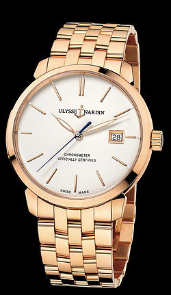 Replica Ulysse Nardin Classico Automatic 8156-111-8/91 replica Watch
