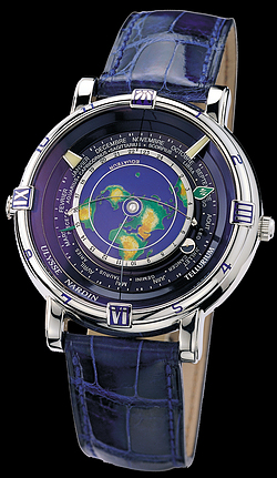Replica Ulysse Nardin Exceptional Tellurium J. Kepler Limited 889-99 replica Watch