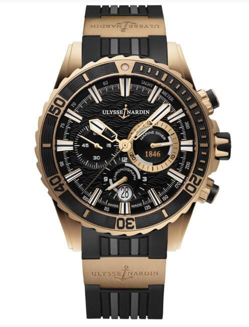 Luxury Fake Ulysse Nardin Diver Chronograph 1502-151-3/92 watch Cheap