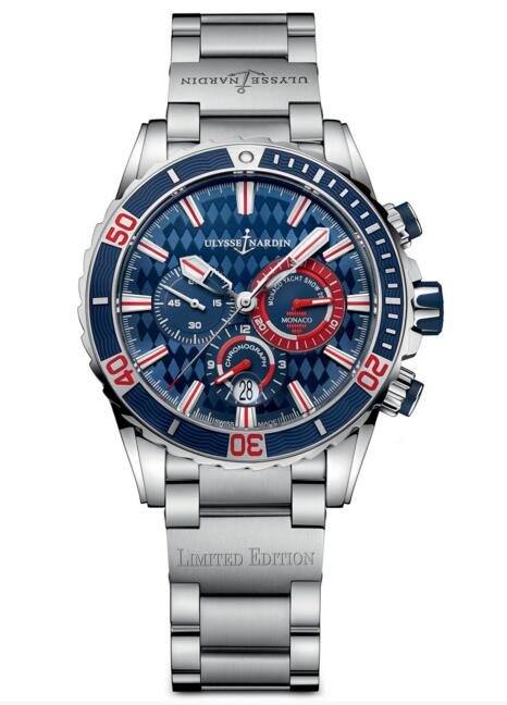 Luxury Fake Ulysse Nardin Diver Chronograph Monaco Limited Edition 1503-151-7M/93-MON watch Cheap