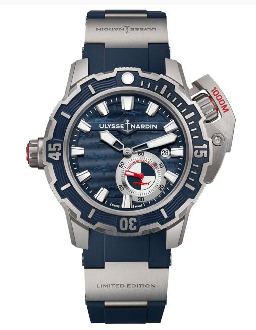 Cheap Luxury Replica Ulysse Nardin 2018 Diver Deep Dive 3203-500LE-3/93-HAMMER watch