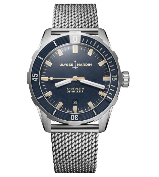 Cheap Ulysse Nardin Diver 42 mm 8163-175-7MIL/93 watch Review