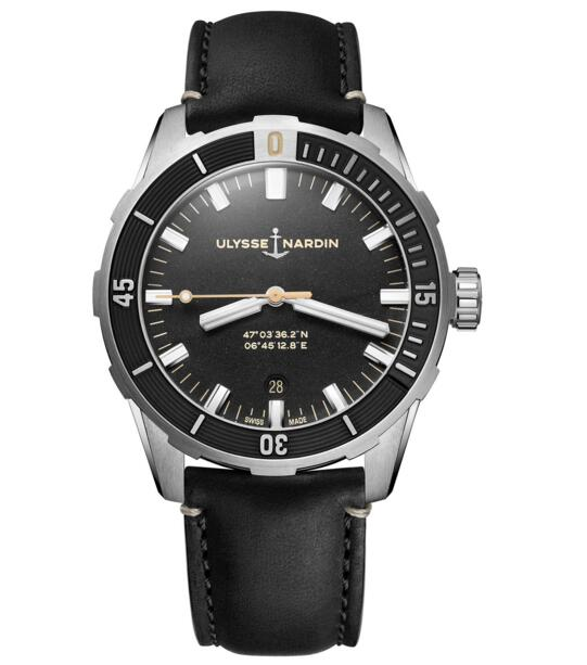 Cheap Ulysse Nardin Diver 42 mm 8163-175/92 watch Review
