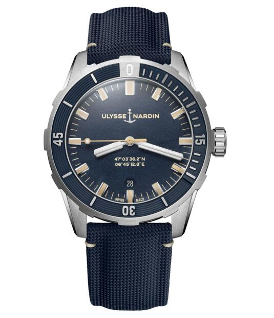 Cheap Ulysse Nardin Diver 42 mm 8163-175/93 watch Review