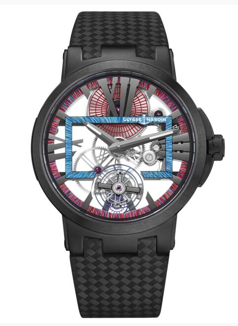 Luxury Replica Ulysse Nardin Executive Skeleton Tourbillon Hyperspace 1713-139LE/HYPERSPACE.2 2018 watch