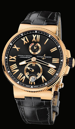 Replica Ulysse Nardin Marine Chronometer Manufacture 1186-122/42 replica Watch