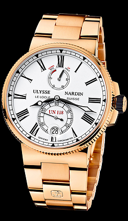 Replica Ulysse Nardin Marine Chronometer Manufacture 1186-122-8M/40 replica Watch