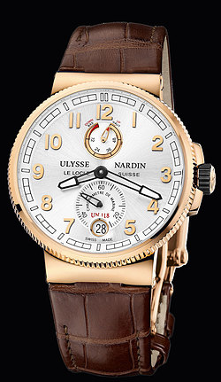 Replica Ulysse Nardin Marine Chronometer Manufacture 1186-126/61 replica Watch