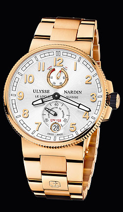 Replica Ulysse Nardin Marine Chronometer Manufacture 1186-126-8M/61 replica Watch