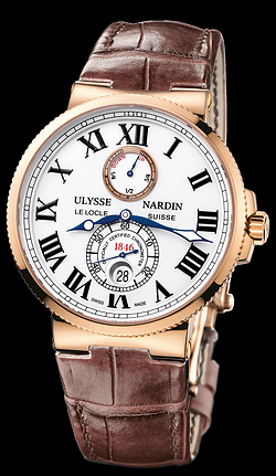 Replica Ulysse Nardin Marine Chronometer 43mm 266-67/40 replica Watch