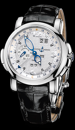 Replica Ulysse Nardin Perpetual Calendars - GMT +/- Perpetual 320-60/60 replica Watch