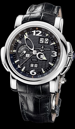 Replica Ulysse Nardin Perpetual Calendars - GMT +/- Perpetual 320-60/62 replica Watch