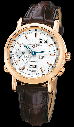 Replica Ulysse Nardin Perpetual Calendars GMT +/- Perpetual 322-88/91 replica Watch
