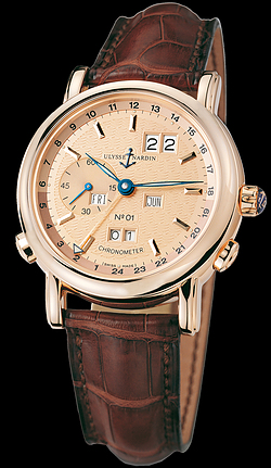 Replica Ulysse Nardin Perpetual Calendars GMT +/- Perpetual 322-88 replica Watch