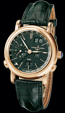 Replica Ulysse Nardin Perpetual Calendars - GMT +/- Perpetual 326-22/92 replica Watch