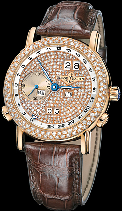 Replica Ulysse Nardin Perpetual Calendars - GMT +/- Perpetual 326-28/091 replica Watch