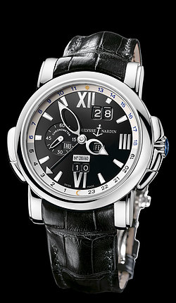 Replica Ulysse Nardin Perpetual Calendars - GMT +/- Perpetual 320-60/32 replica Watch