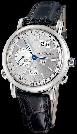 Replica Ulysse Nardin Perpetual Calendars - GMT +/- Perpetual 320-82/31 replica Watch