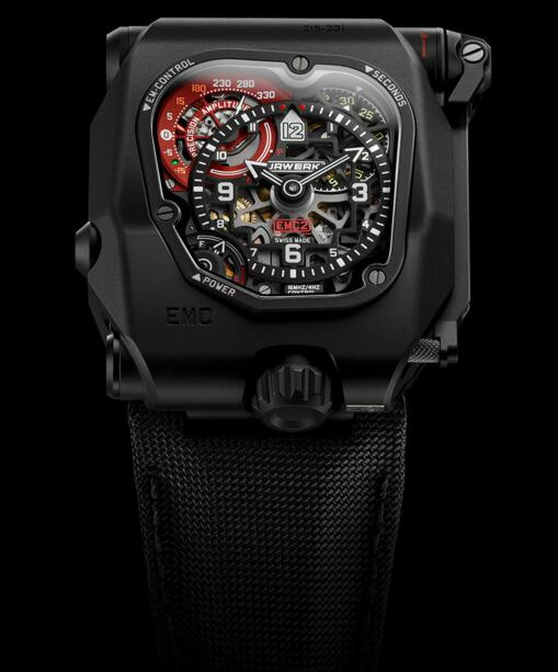Best Replica Urwerk EMC TIME HUNTER X-RAY men watch review