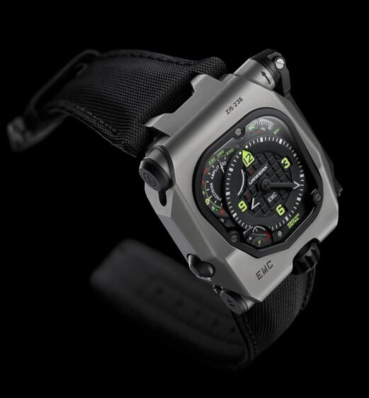 Best Replica Urwerk EMC TIME HUNTER men watch review