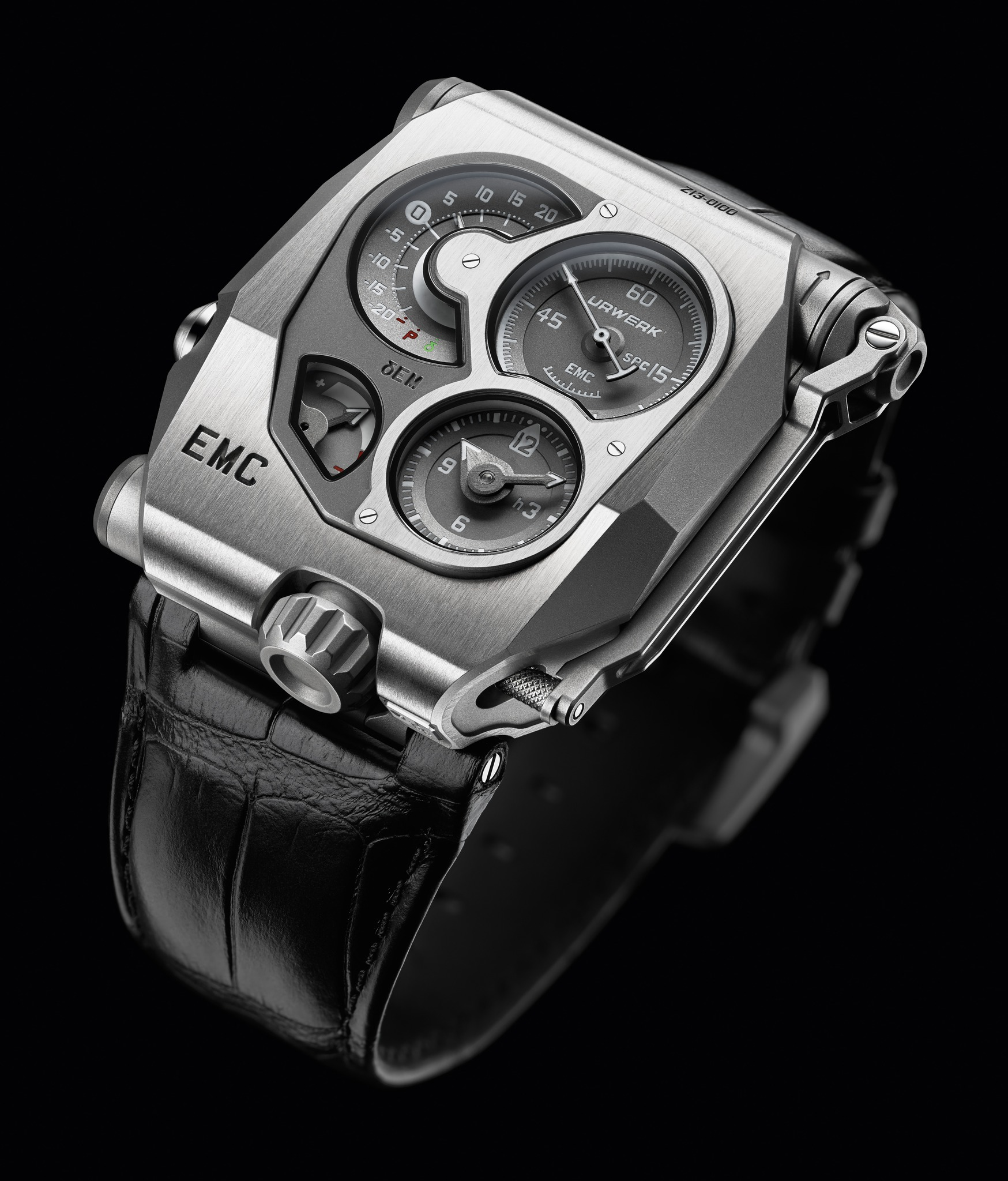 Replica Urwerk EMC Titanium and Steel Watch