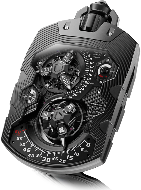 Replica Urwerk UR-1001 Zeit Device Pocket Watch