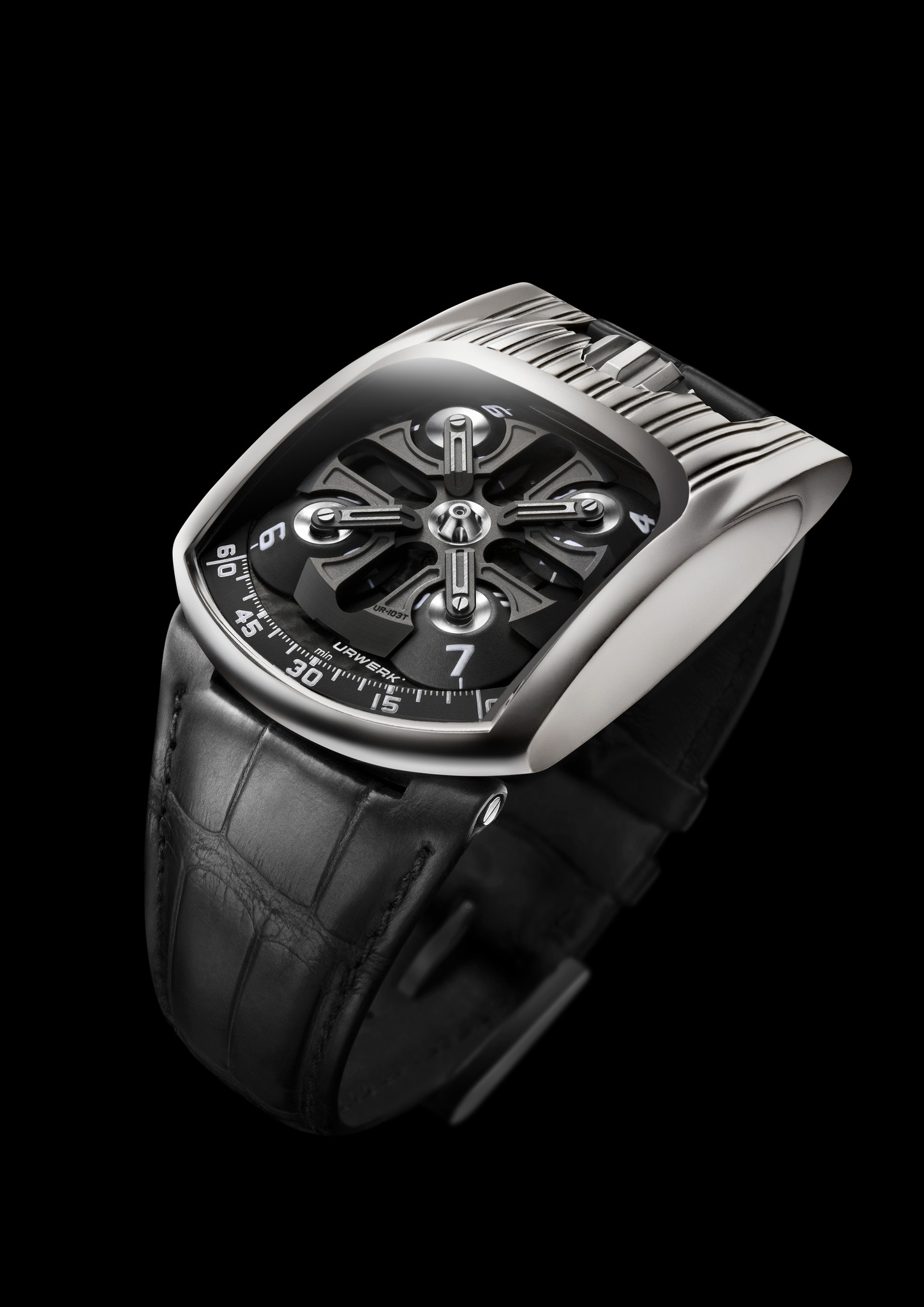 Replica Urwerk UR-103T White Gold Watch
