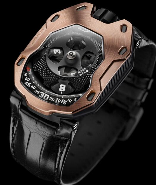 Replica Urwerk Watches for Sale—Exact Replica Urwerk UR-105 TA RG watches