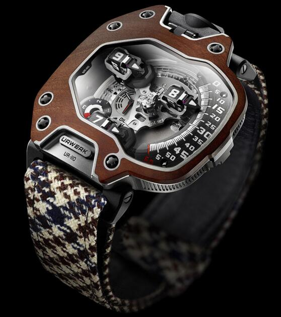 Replica Urwerk Watches for Sale—Exact Replica Urwerk UR-110 EASTWOOD RED EBONY watches