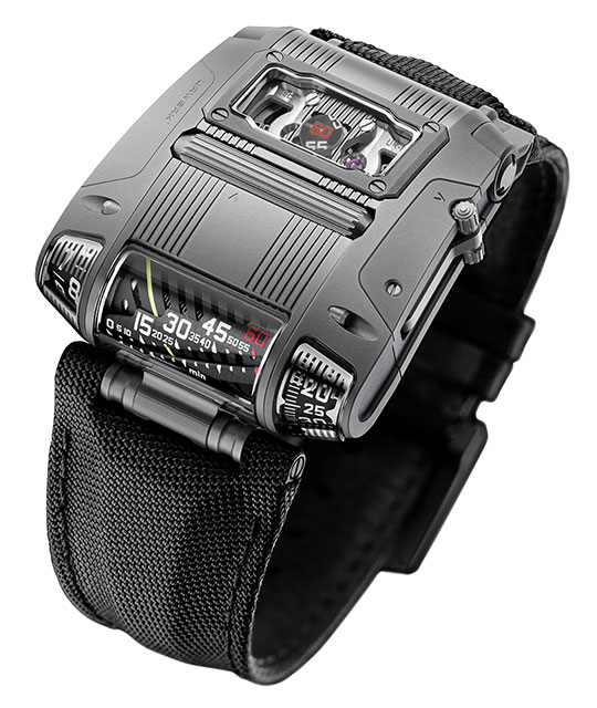 Buy Replica Urwerk UR-111C Gunmetal watch
