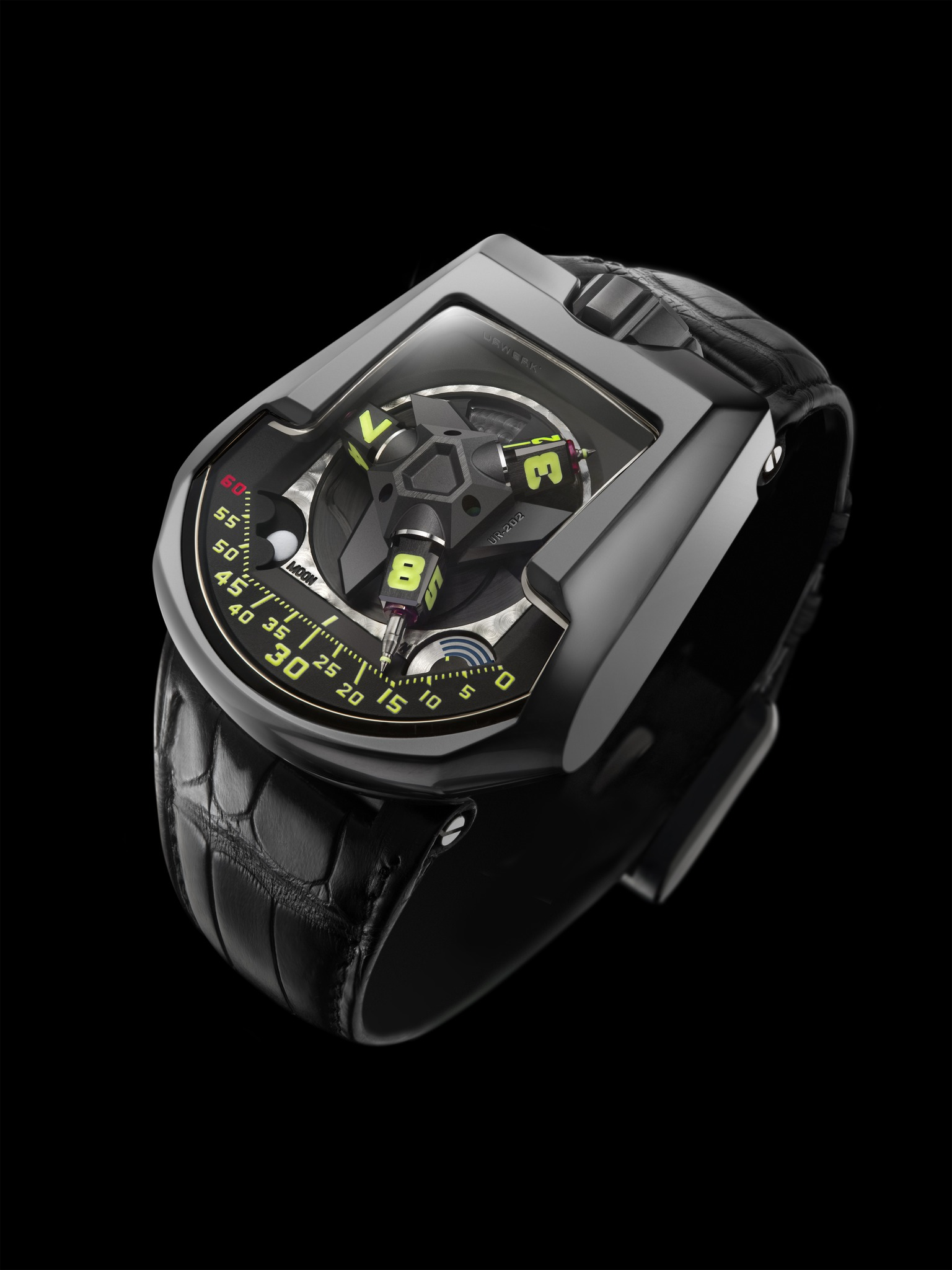 Replica Urwerk UR-202 AlTiN-Coated Steel Watch