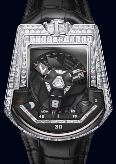 Replica Urwerk UR-202 Baguettes White Gold Watch