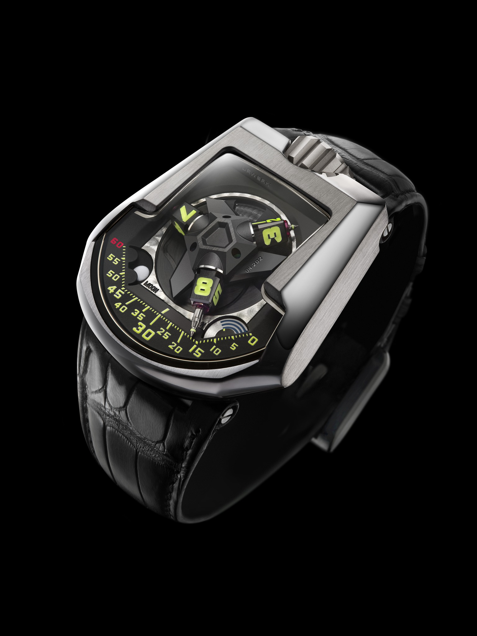 Replica Urwerk UR-202 White Gold Watch