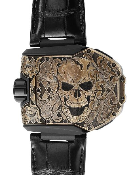 Replica Urwerk UR-T8 Skull Limited Edition Watch