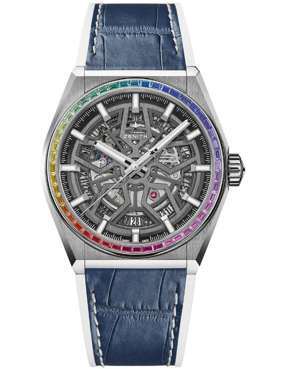 Zenith Defy Classic Rainbow Limited Edition 32.9003.670/86.R588 fake watches