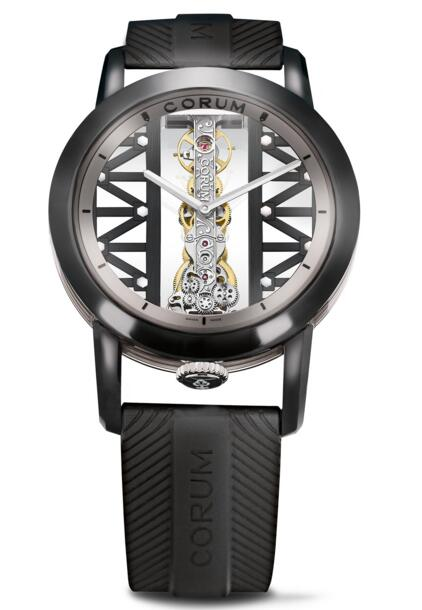 Corum Bridges Golden Bridge Round 43 B113/03832 - 113.959.95/F371 GG29G watch for sale