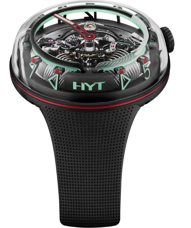 replica HYT H²0 »Mexico« Red H02336 watches