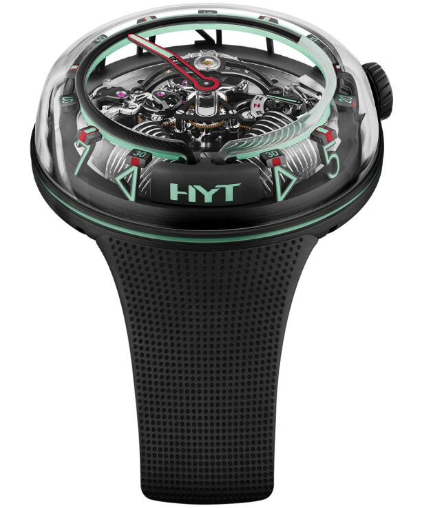 HYT H²0 »Mexico« Green H02346 fake watches