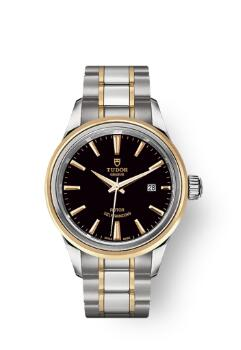 Buy Tudor Style Watch Review Replica 28 mm steel case Steel and yellow gold bezel m12103-0003