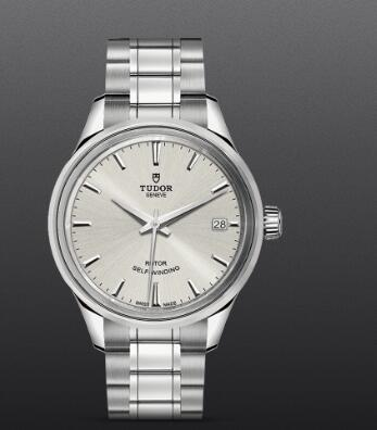 Replica Watch Tudor Style 34mm steel case silver dial m12300-0001