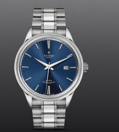 Replica Tudor Style Swiss Watch 41MM Steel Case blue dial m12700-0009
