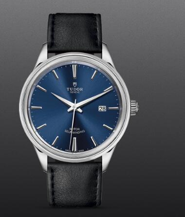 Replica Tudor Style Swiss Watch 41MM Steel Case blue dial m12700-0010