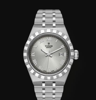 New Tudor Royal Watch Cheap Price 28 mm steel case Silver dial Replica watch m28300-0001
