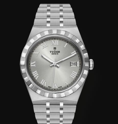 New Tudor Royal Watch Cheap Price 38 mm steel case Silver dial Replica watch m28500-0001