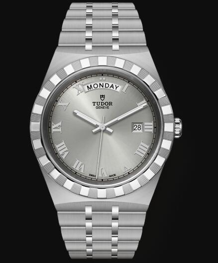 New Tudor Royal Watch Cheap Price 41 mm steel case Silver dial Replica watch m28600-0001